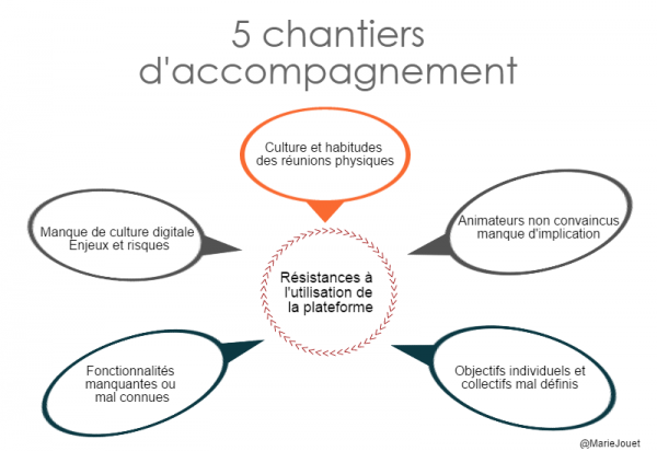 Schema accompagnement creation communauté professionnelle